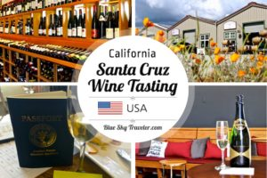 Wine tasting in Santa Cruz California - Experience a rich history of wine-making in this overlooked wine region in California. See more at BlueSkyTraveler.com