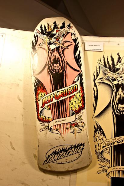 BlueSkyTraveler.com - Santa Cruz - NHS Skateboard Museum