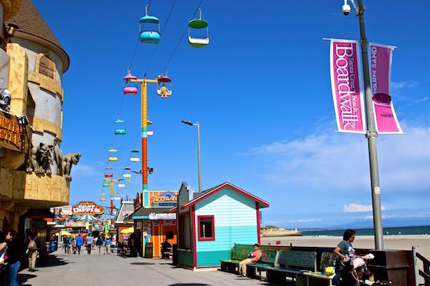BlueSkyTraveler - Santa Cruz Boardwalk