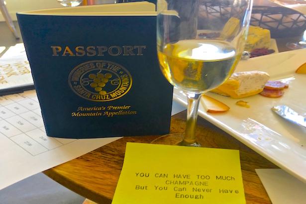 BlueSkyTraveler - Santa Cruz Wine Tasting & Passport
