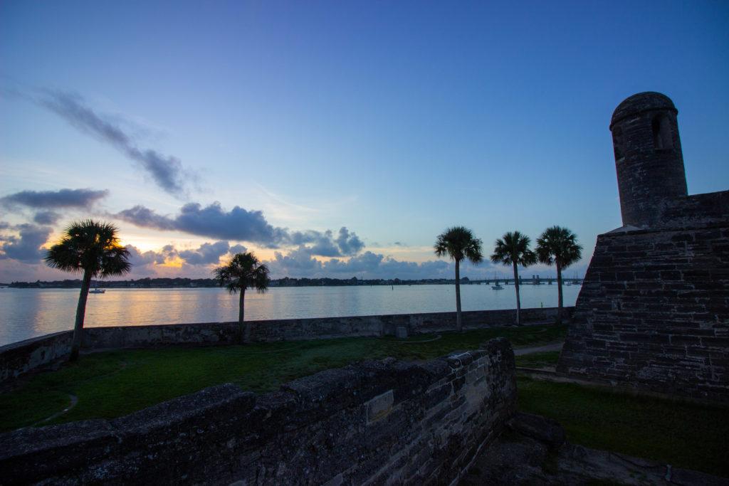 Photo: Teri Didjurgis | BlueSkyTraveler •St. Augustine Sunrise