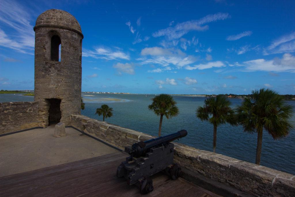 Photo: Teri Didjurgis • BlueSkyTraveler || Castillo de San Marcos Fort