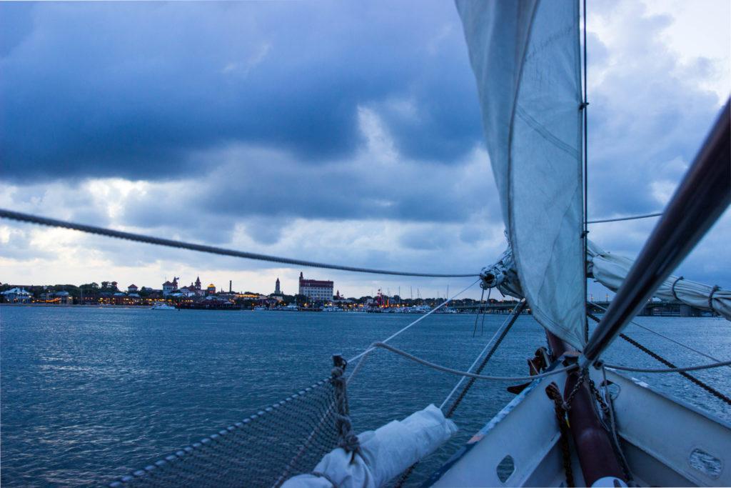 Photo: Teri Didjurgis • BlueSkyTraveler || Sailing on the Schooner Freedom