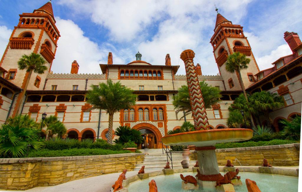 Photo: Teri Didjurgis • BlueSkyTraveler || Ponce de Leon Hotel • Flagler College